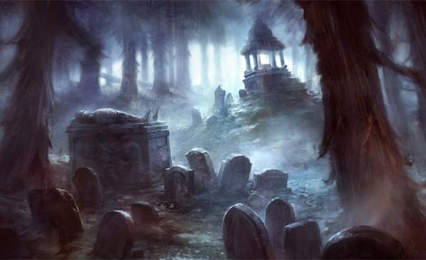 Interpretação para sonhar com cemiterio