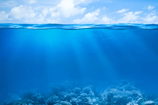 sonhar com água do mar