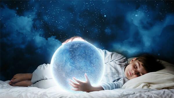 sonhnar com crianças
