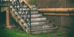sonhar com escada