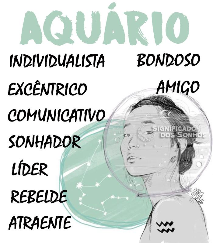 Signo de Aquário - Características, Personalidade, Defeitos, Amor e Muito Mais