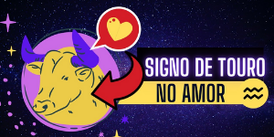 Signo de touro no amor