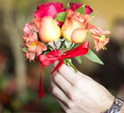 simpatia com flores