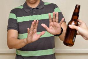 simpatia para parar de beber