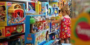 sonhar com prateleira de brinquedos