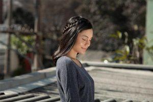 penteado para câncer trança lateral