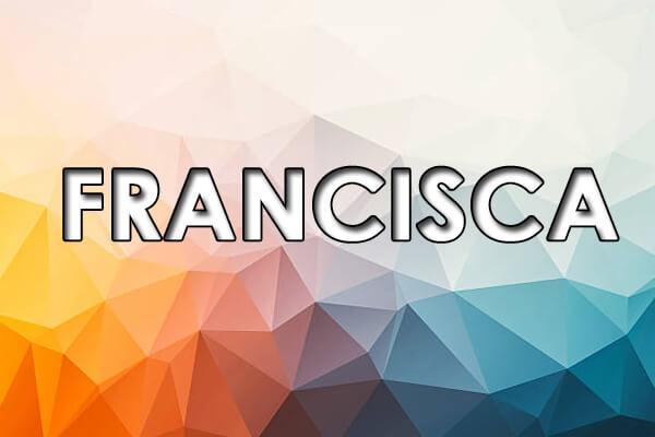 significado de francisca