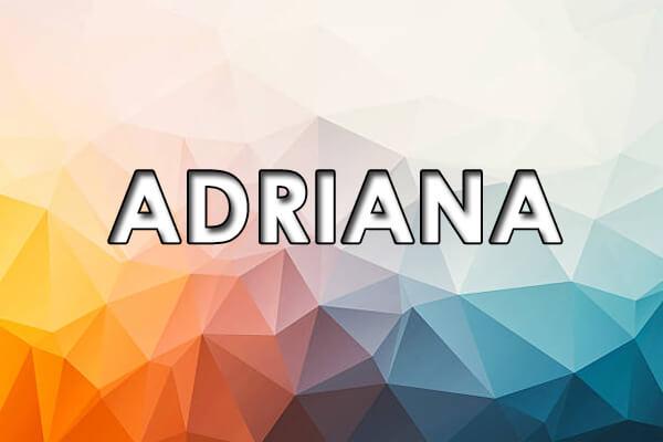 significado de Adriana