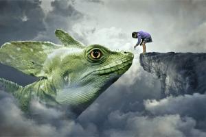 significado de sonhar com lagarto verde