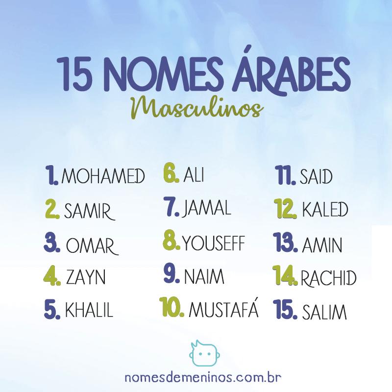 15 Nomes Árabes Masculinos