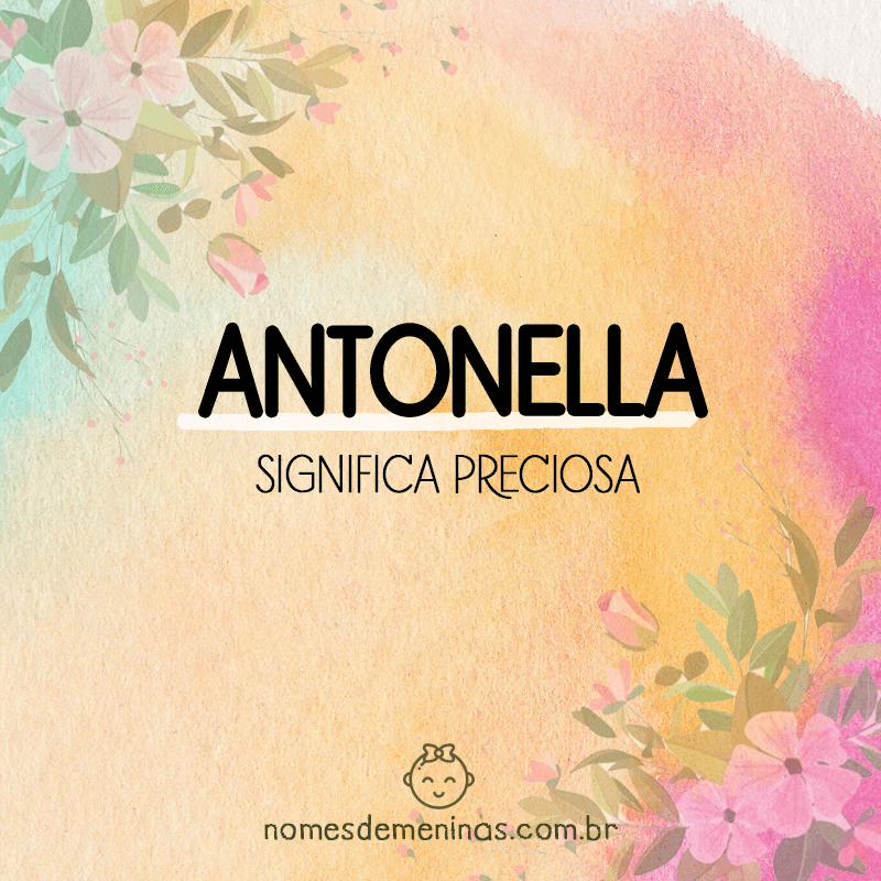 Significado de Antonella