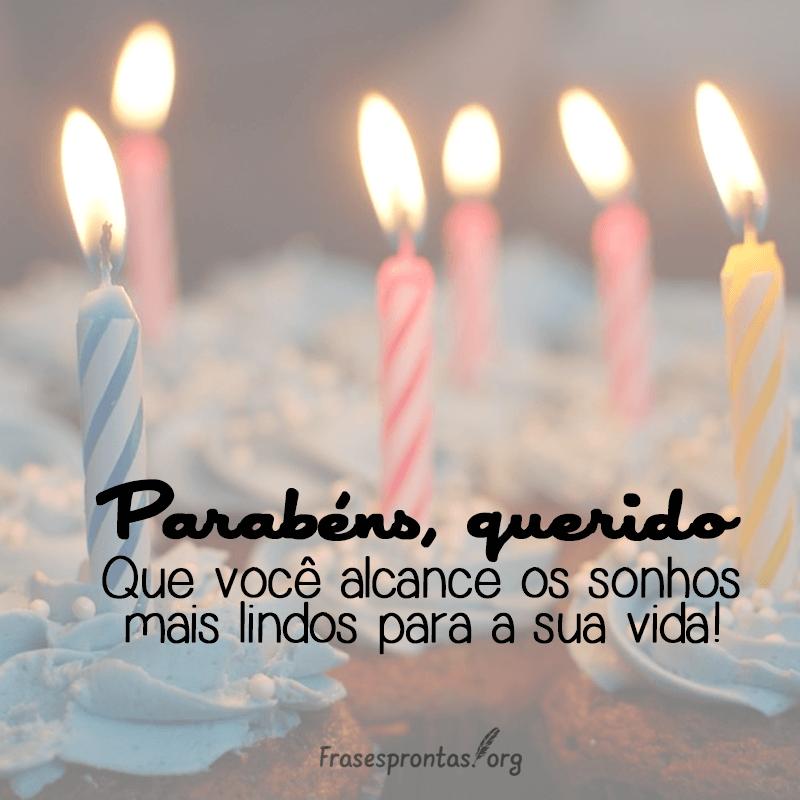 Frase de Feliz Aniversário Criança