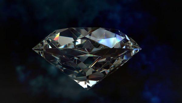 Sonhar com diamante