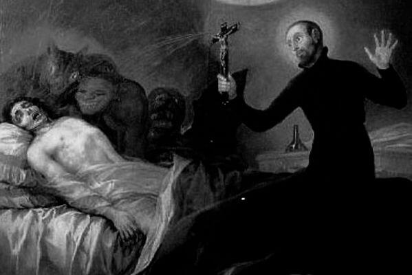 Sonhar com exorcismo