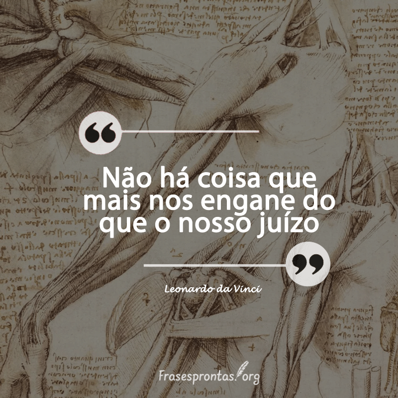 Frase Leonardo da Vinci