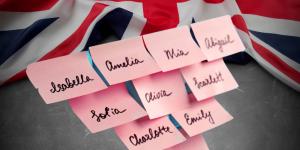 Nomes ingleses femininos