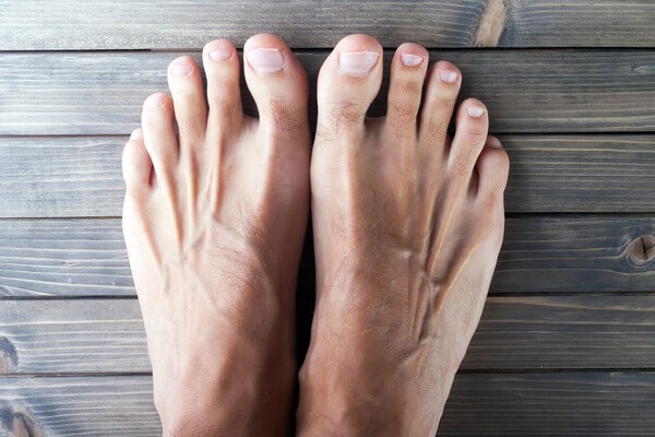 Sonhar com pés