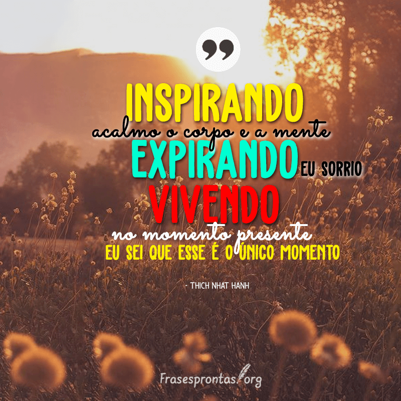 Frase Thich Nhat Hanh