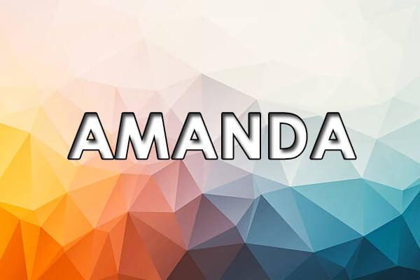 Significado de Amanda