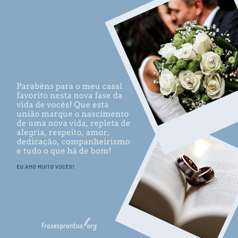 frase de casamento