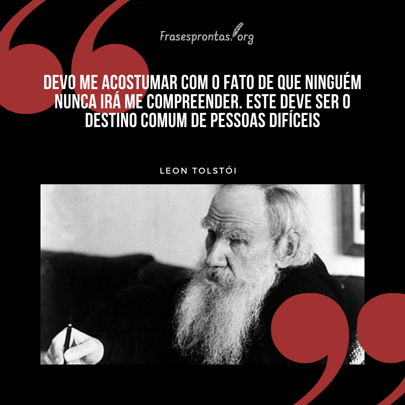 Frase de Leon Tolstói