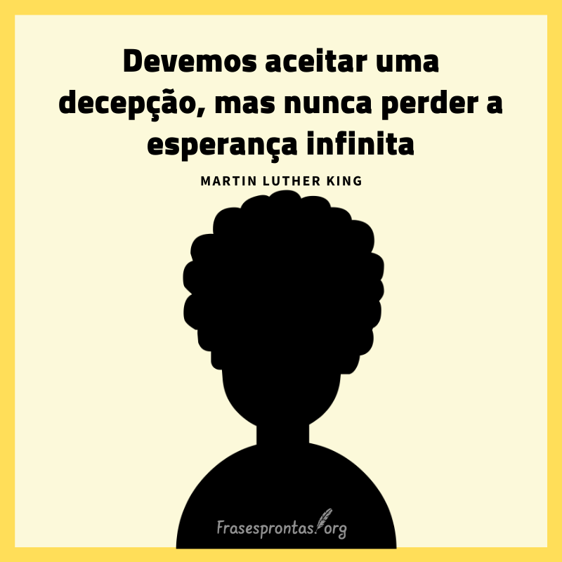 Frase Martin Luther King