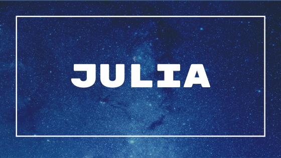 Nome Júlia
