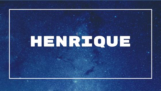 Nome Henrique
