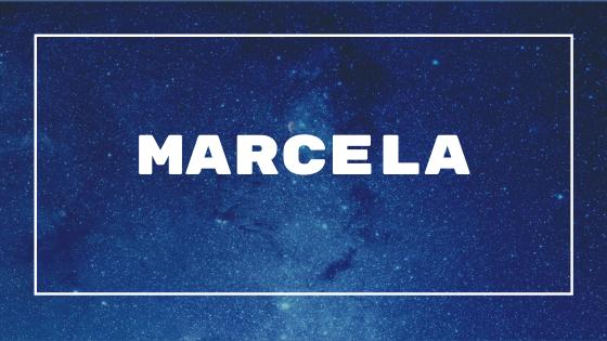 Marcela Significado do nome