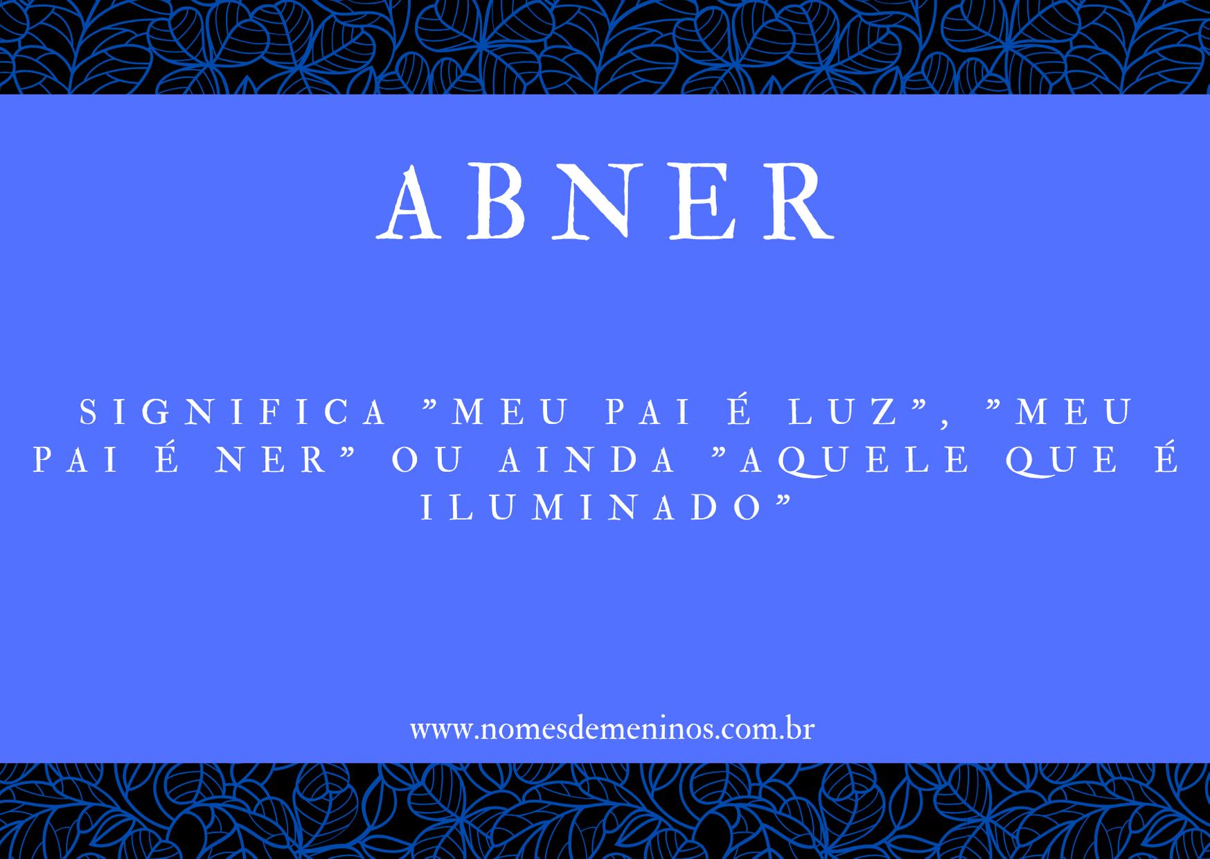 nome Abner