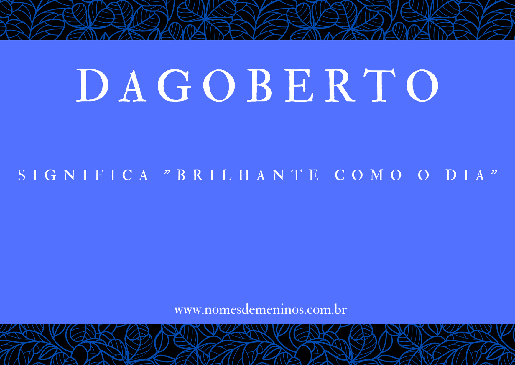 nome Dagoberto