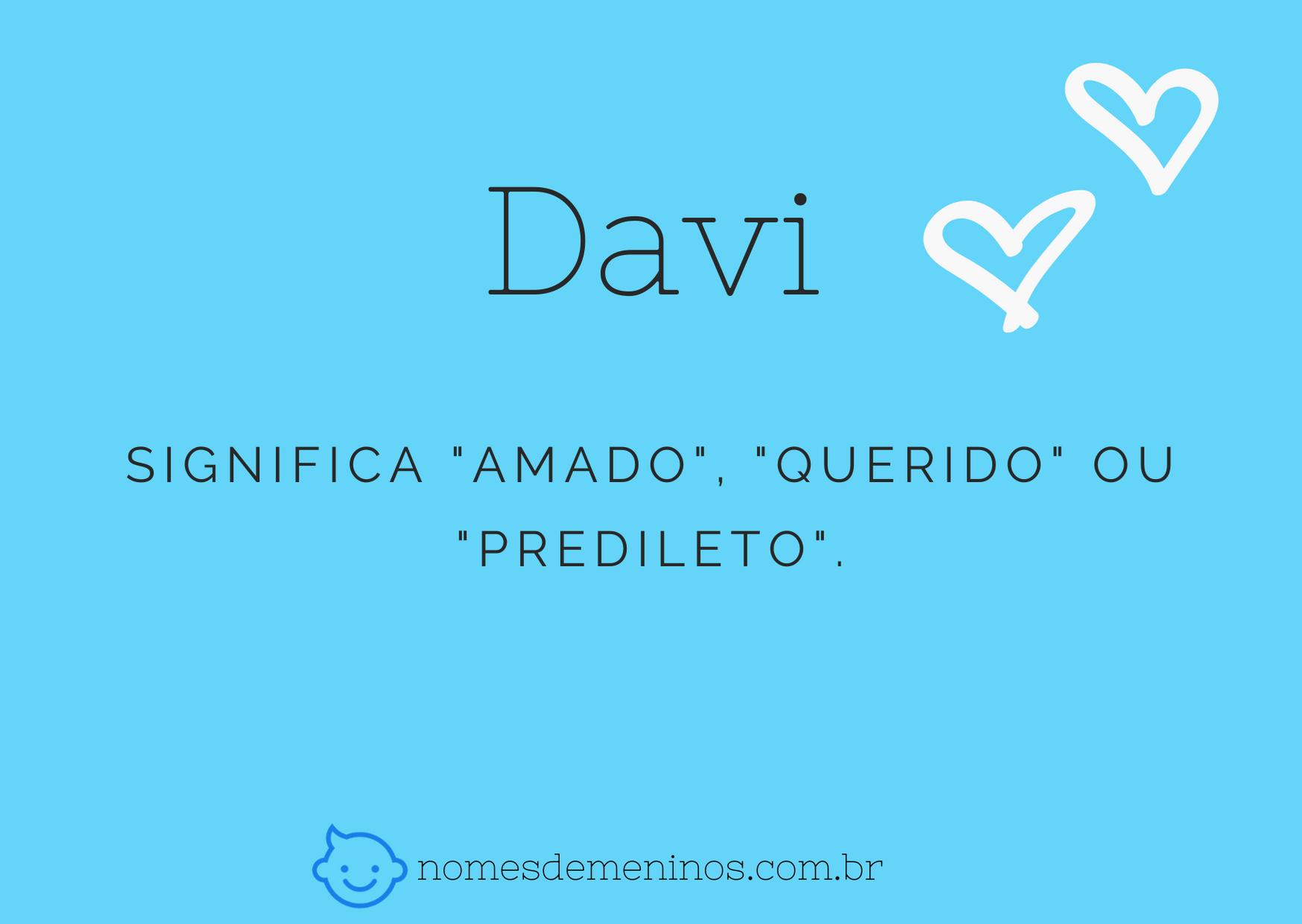 nome Davi