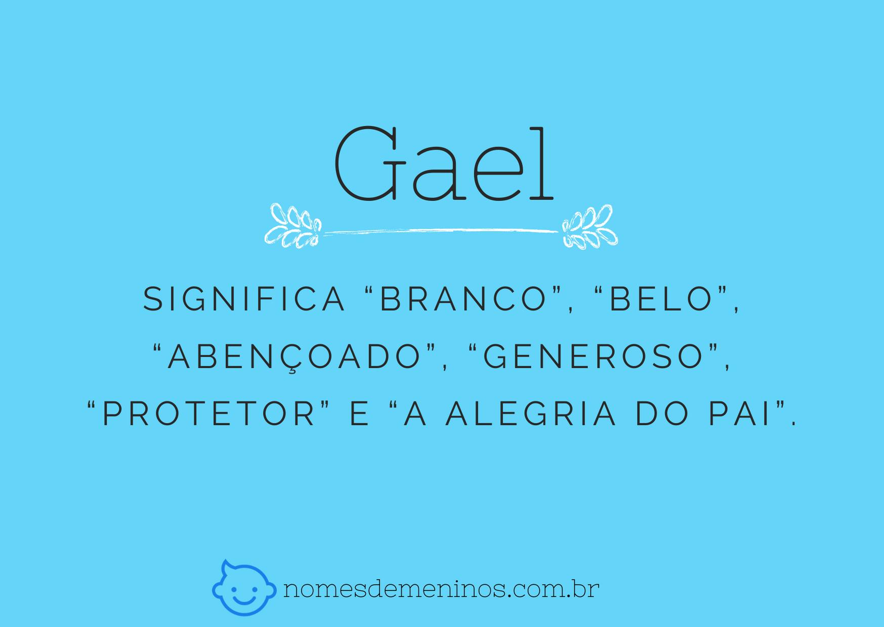 nome Gael