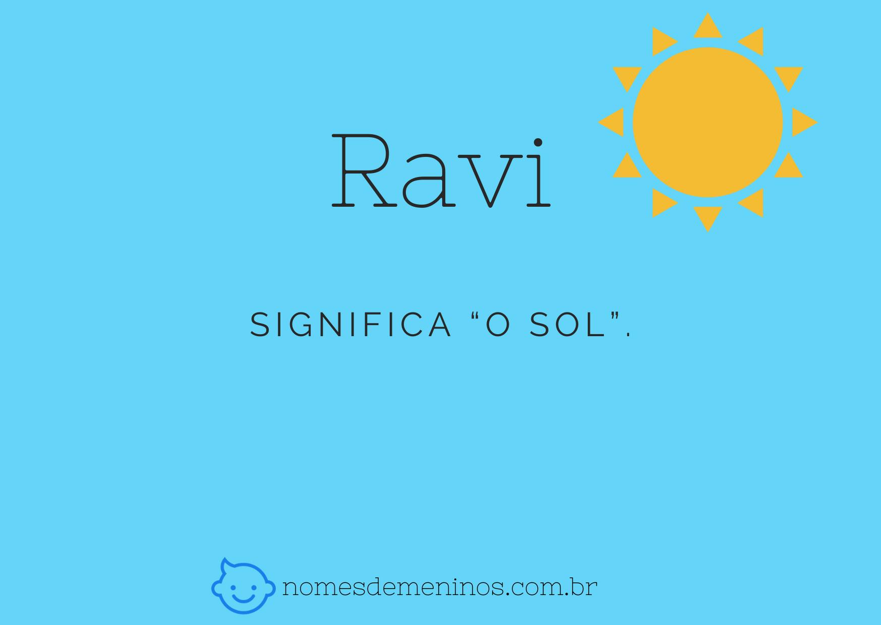 nome Ravi