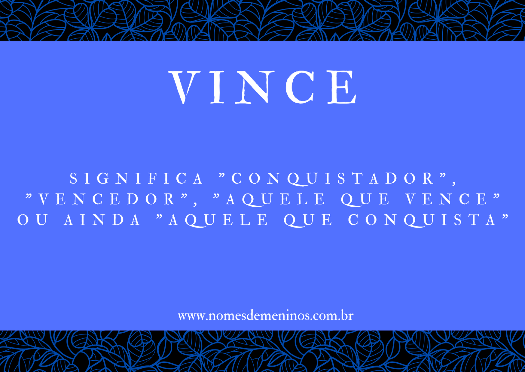 nome Vince