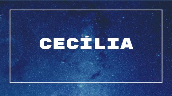Nome Cecília