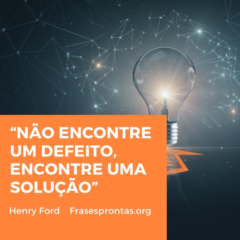 Frase de Henry Ford sucesso