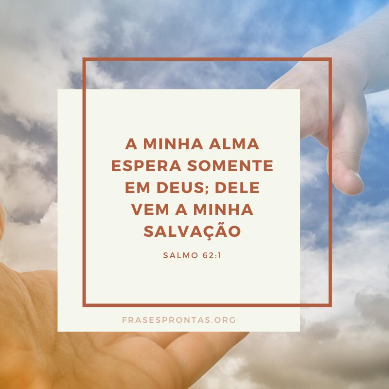 Frase evangélica salmo da bíblia