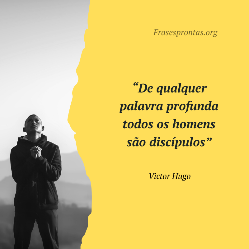 Frase de Victor Hugo Famosa
