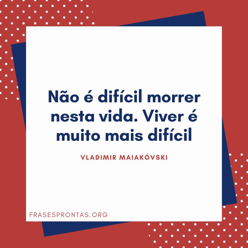 Vladimir Miakovski frase