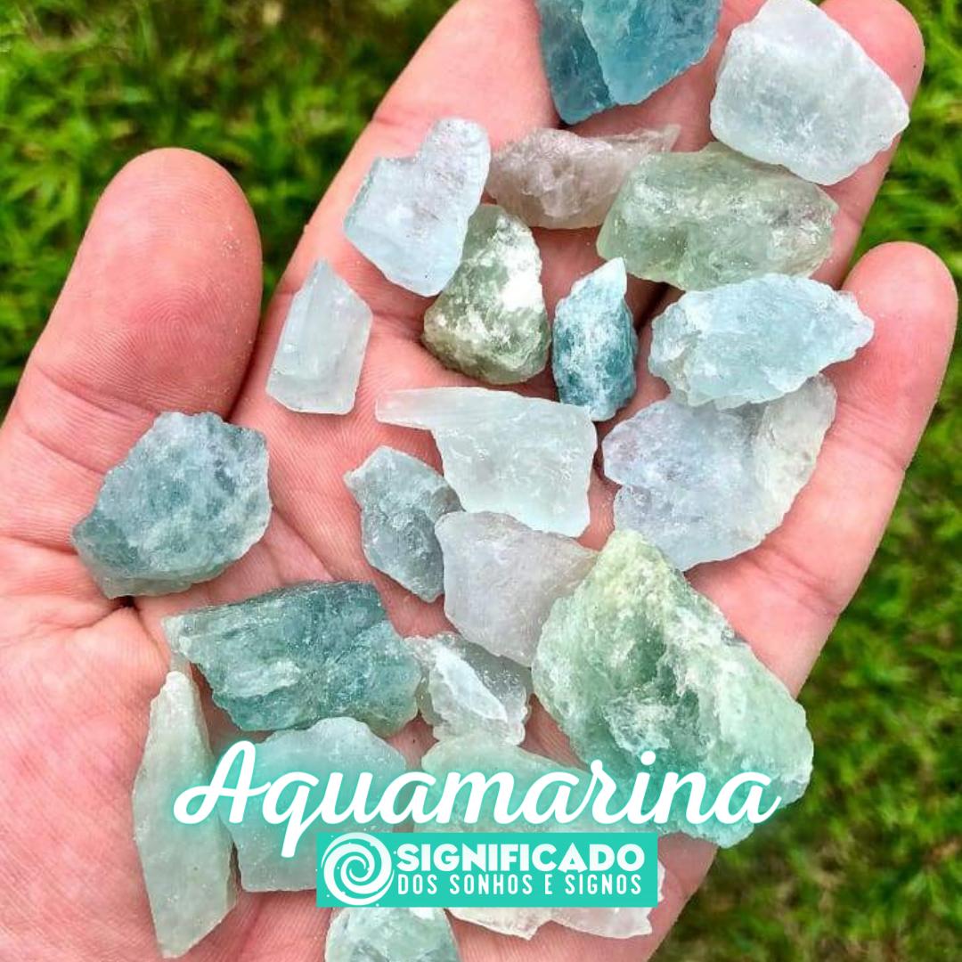 Pedra Aquamarina
