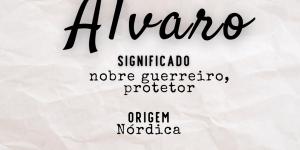 Significado do nome Álvaro