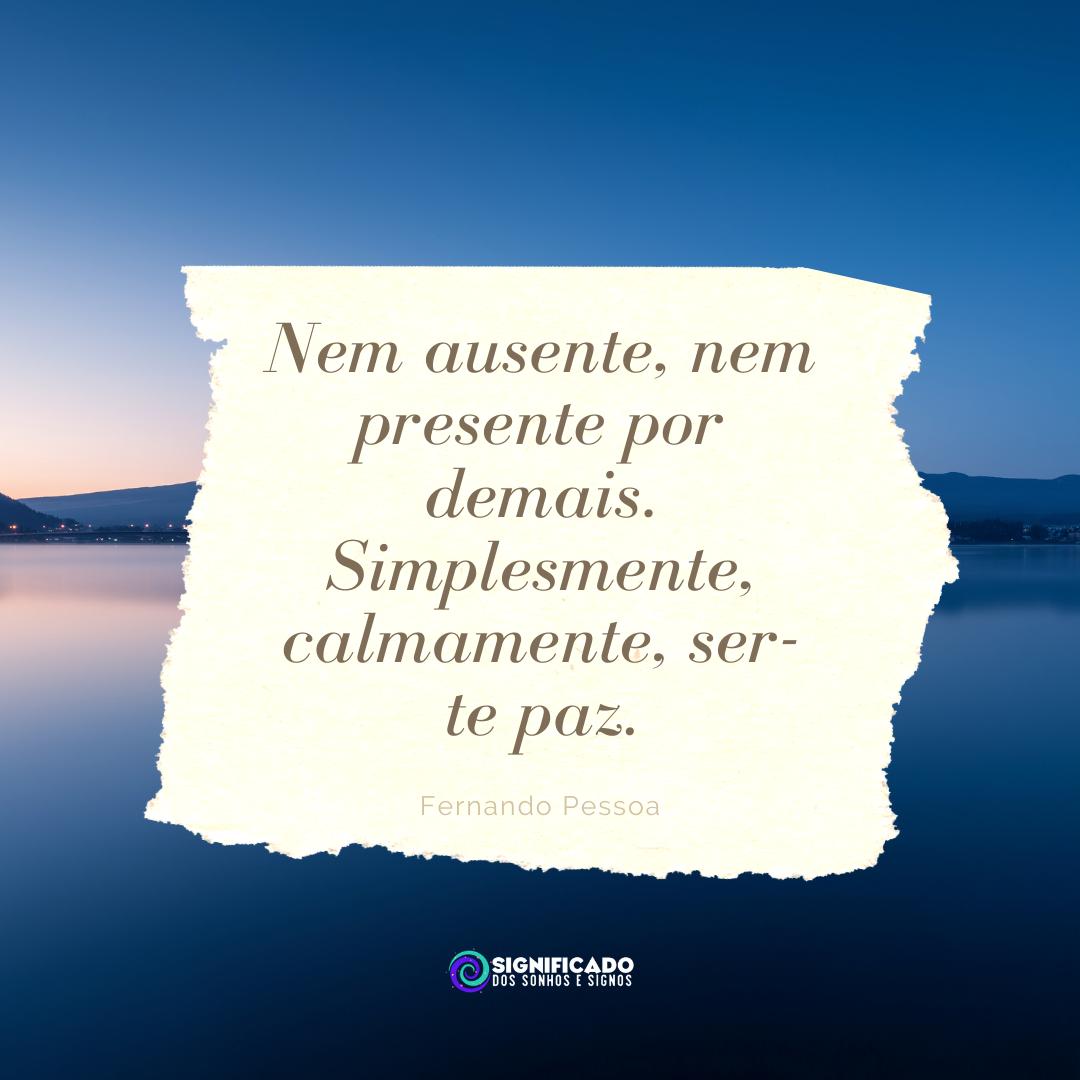 Frase de Fernando Pessoa