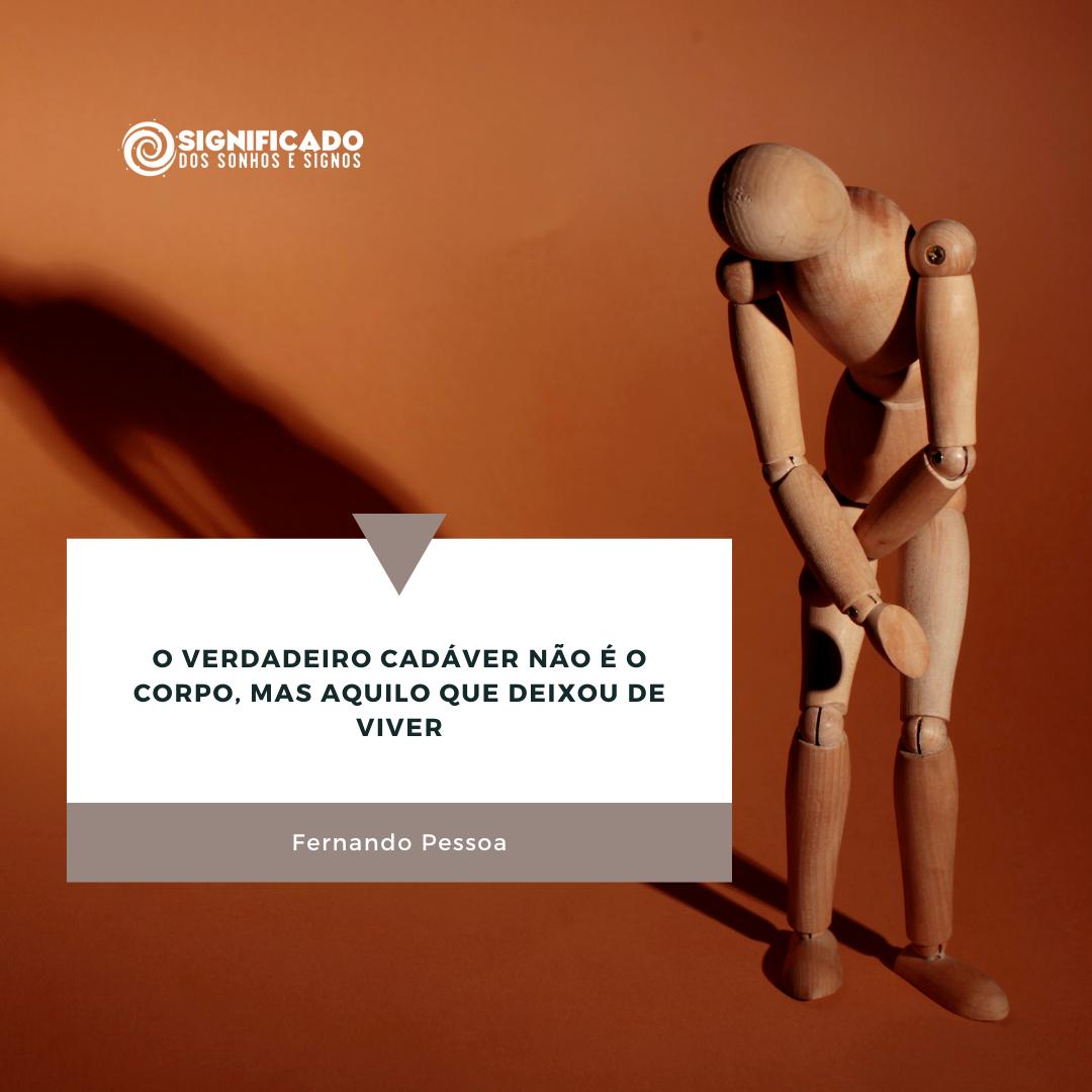 Frase reflexão Fernando Pessoa