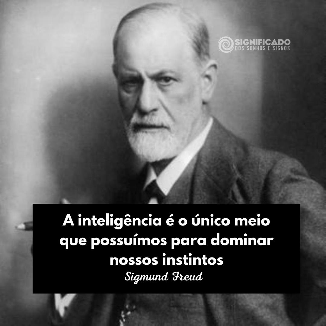 Frase Sigmund Freud