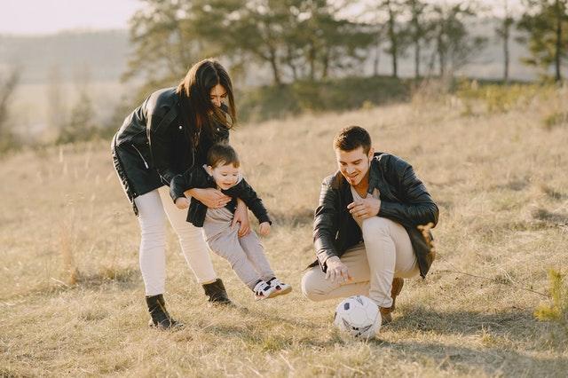 Família brincando
