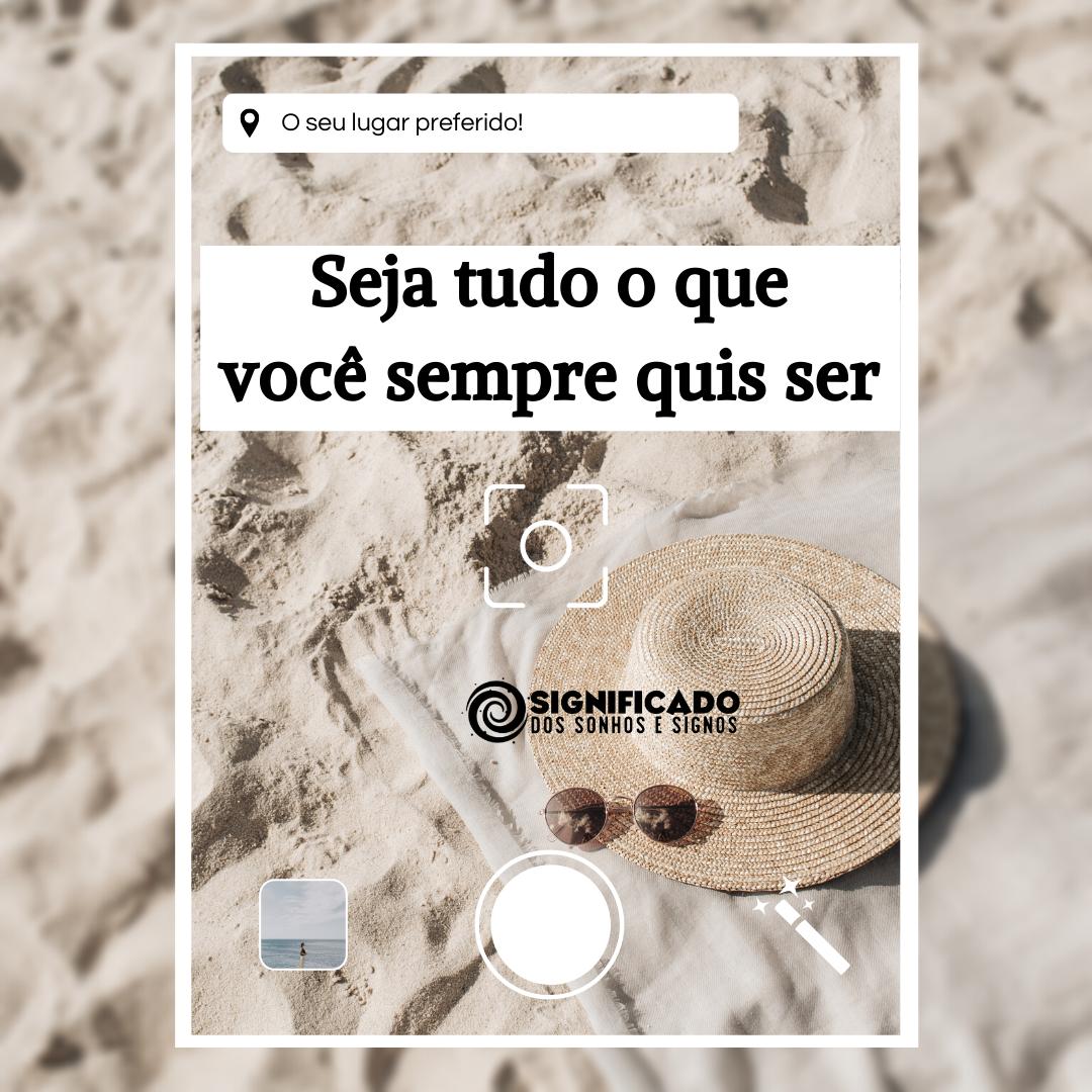 Frase para foto Instagram