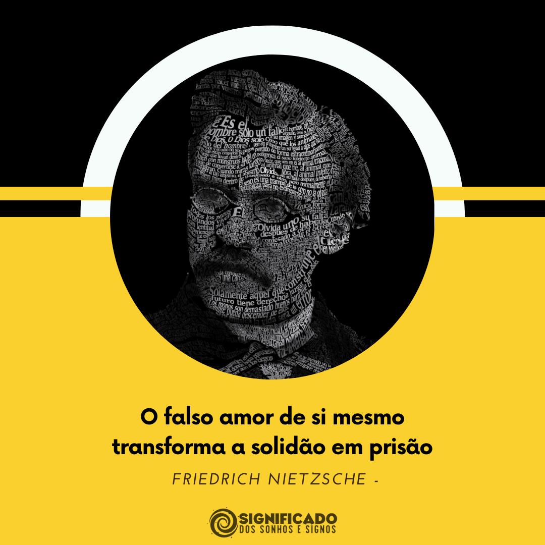 Frase de Friedrich Nietzsche sobre amor