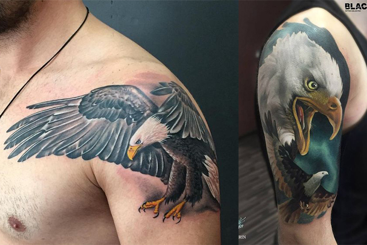 Tatuagem de Águia - Liberdade