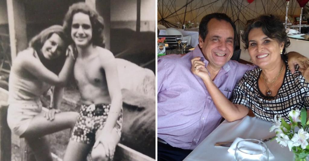 Casal separado por 46 anos